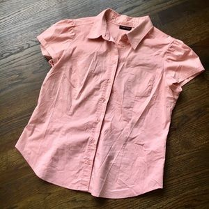 New York & Company Tops - Cute button down pink top New York & Company SZ L